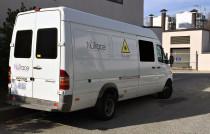 Mobile laser unit